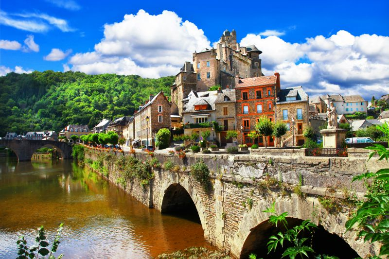 France - L'Aveyron, Millau & les 5 plus beaux villages de France